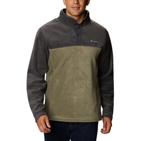 Columbia Steens Mountain Sweat À Boutons Pression Homme, stone green/shark